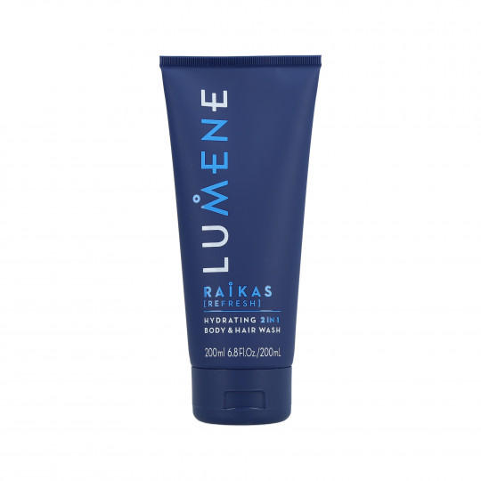 LUMENE MEN RAIKAS Hydrating 2w1 Body & Hair Wash 200ml - 1