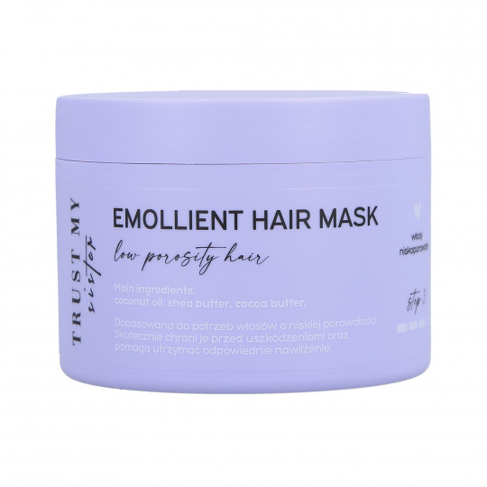 TRUST MY SISTER Emollient Hair Mask Low Porosity 150g - 1