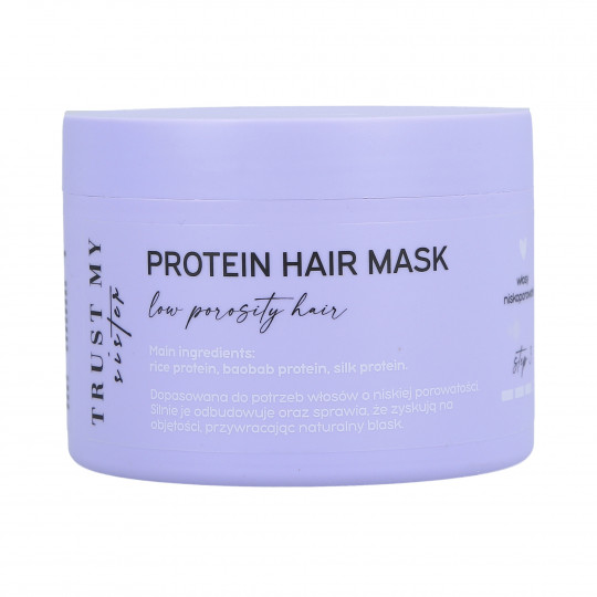 TRUST MY SISTER Protein Hair Mask Low Porosity 150g - 1