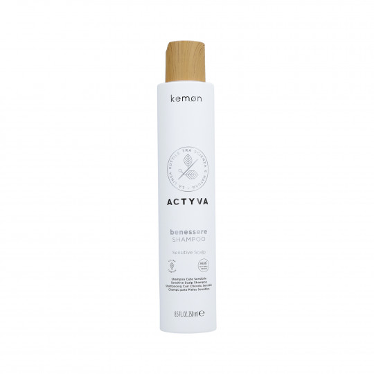 KEMON ACTYVA BENESSERE Shampoo for sensitive scalp 250ml - 1