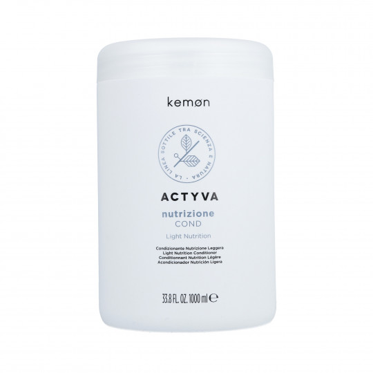 KEMON ACTYVA NUTRITION Conditioner for dry hair 1000ml - 1