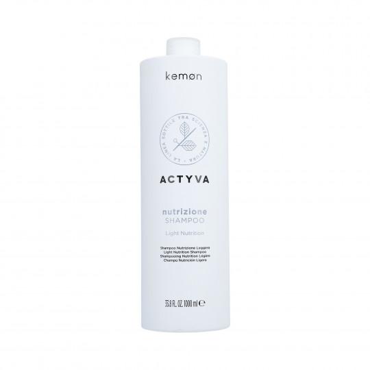 KEMON ACTYVA NUTRIZIONE Shampoo for Dry Hair 1000ml - 1