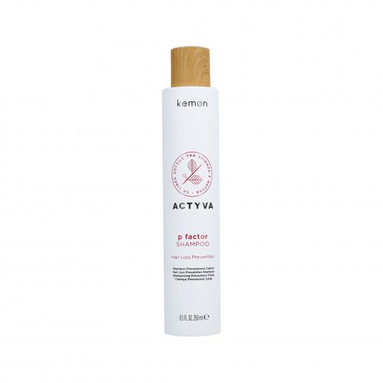 KEMON ACTYVA P FACTOR Shampoo against hair loss 250ml - 1
