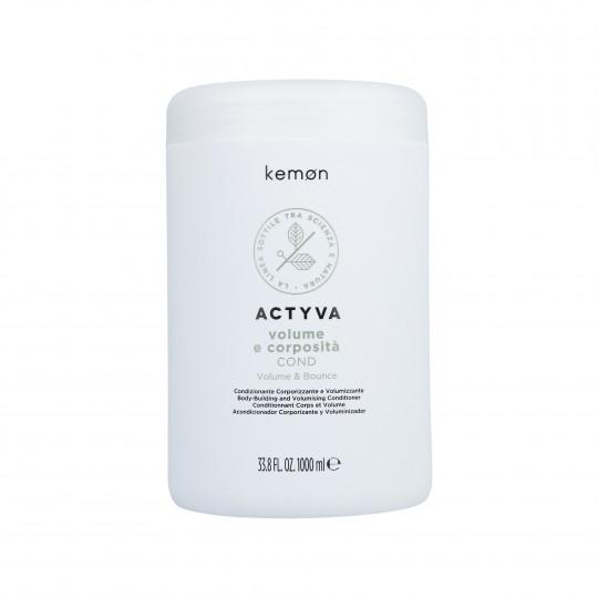 KEMON ACTYVA VOLUME&BOUNCE Conditioner 1000ml - 1
