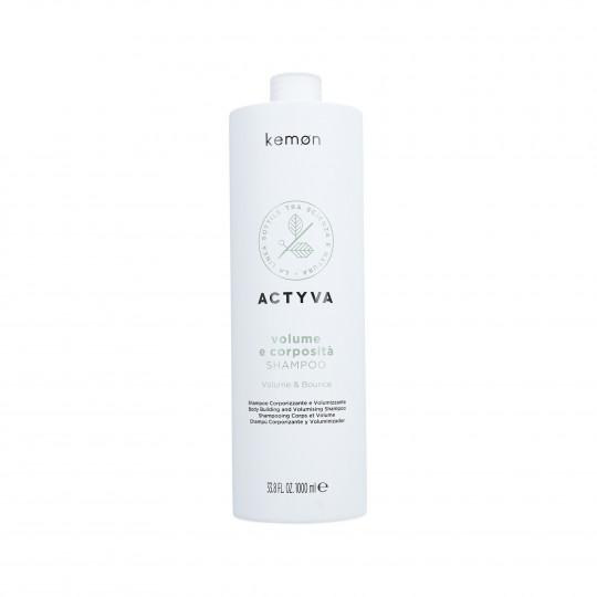 KEMON ACTYVA VOLUME & BOUNCE Shampoo 1000ml - 1