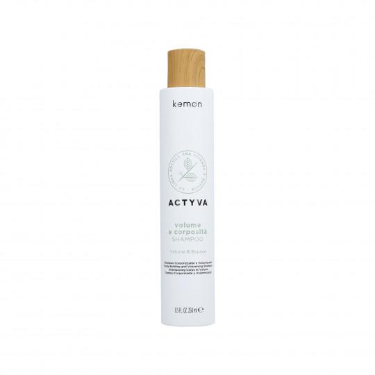 KEMON ACTYVA VOLUME & BOUNCE Shampoo 250ml - 1