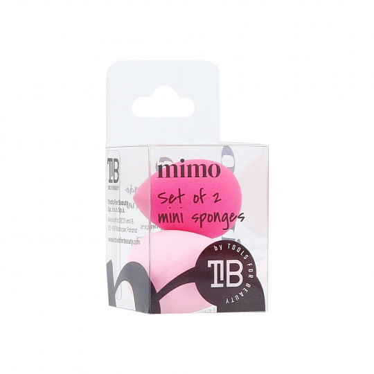 MIMO Mini Makeup Sponge, Set of 2, Pink