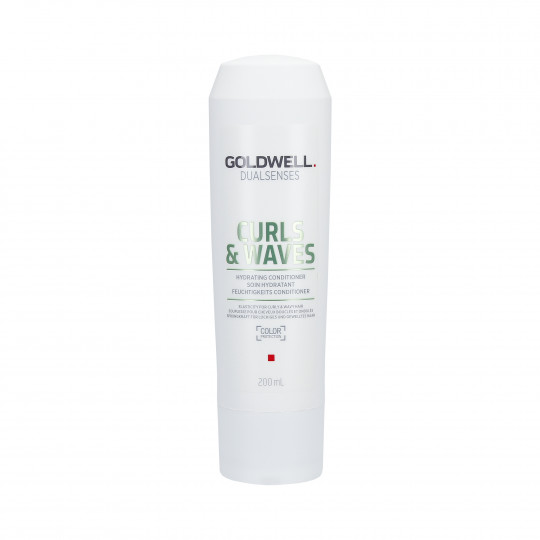 GOLDWELL DUALSENSES CURLS&WAVES Hydrating Conditioner 200ml - 1