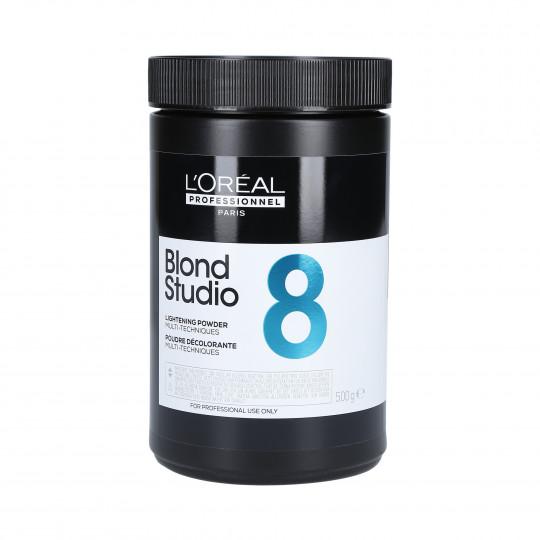 L'OREAL BLOND STUDIO COLOR Multi Technique Powder decolourant 500g - 1