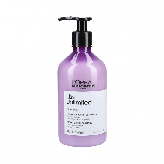 L'Oréal Professionnel Serie Expert Liss Unlimited Smoothing Shampoo 500ml