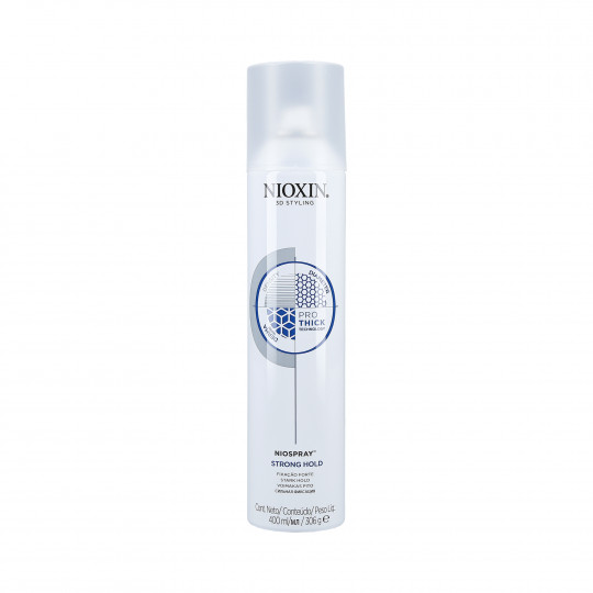 NIOXIN 3D STYLING Strong hold hairspray 400ml