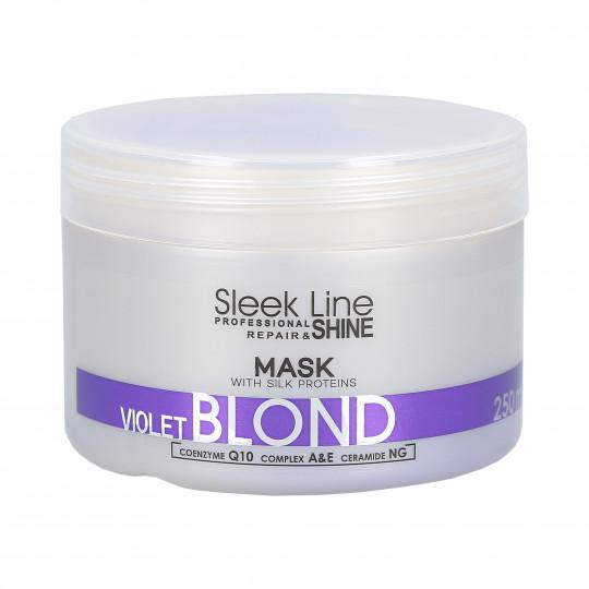 STAPIZ SLEEK LINE VIOLET BLOND MASK 250ML