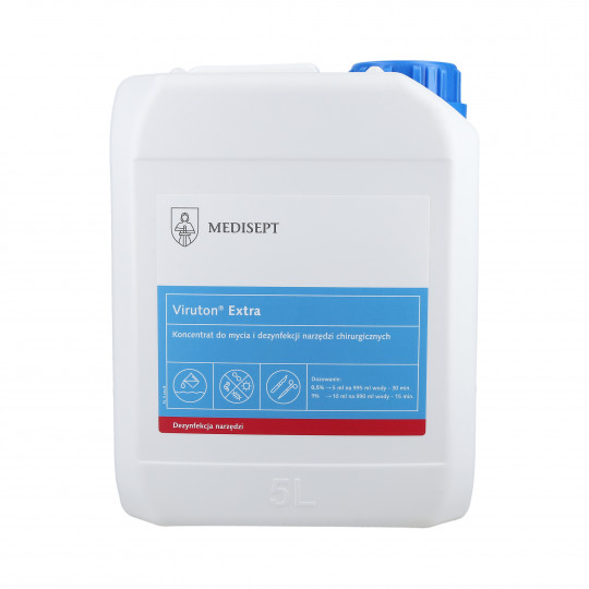 MEDISEPT MEDI-LINE Viruton Extra concentrate for cleaning and disinfection of medical instruments 5000ml