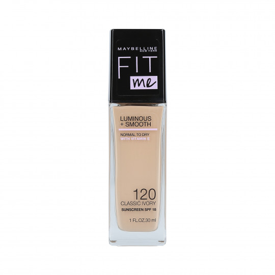 FIT ME L&S FOUNDATION 120 CLASSIC IVORY 30ML