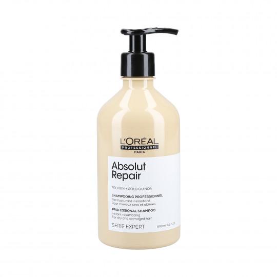 L'OREAL PROFESSIONNEL ABSOLUT REPAIR Gold Quinoa+Protein Regenerating shampoo 500ml