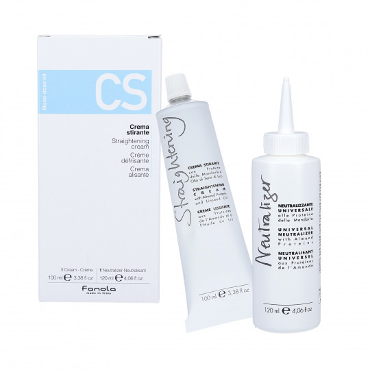 FANOLA Straightening Cream 100ml + Neutraliser 120ml