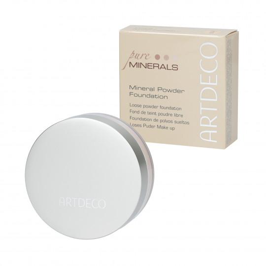 ARTDECO MINERAL POWDER FOUNDATION Powdered Mineral Primer 3 Soft Ivory 15g